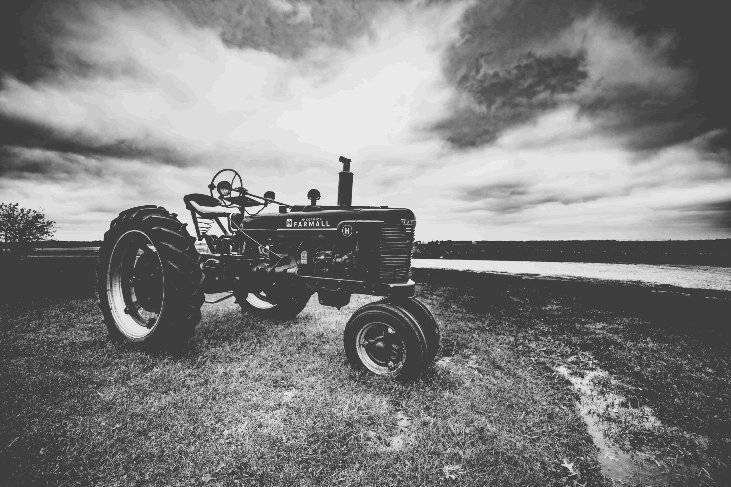 tracteur ferme romanat